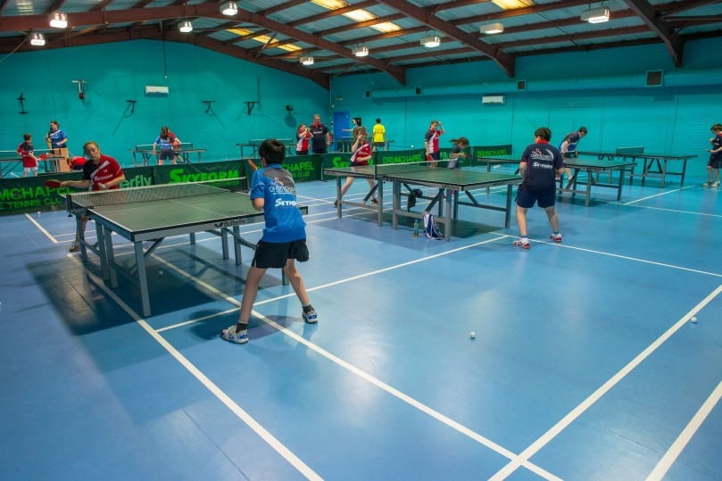 Glasgow table tennis club