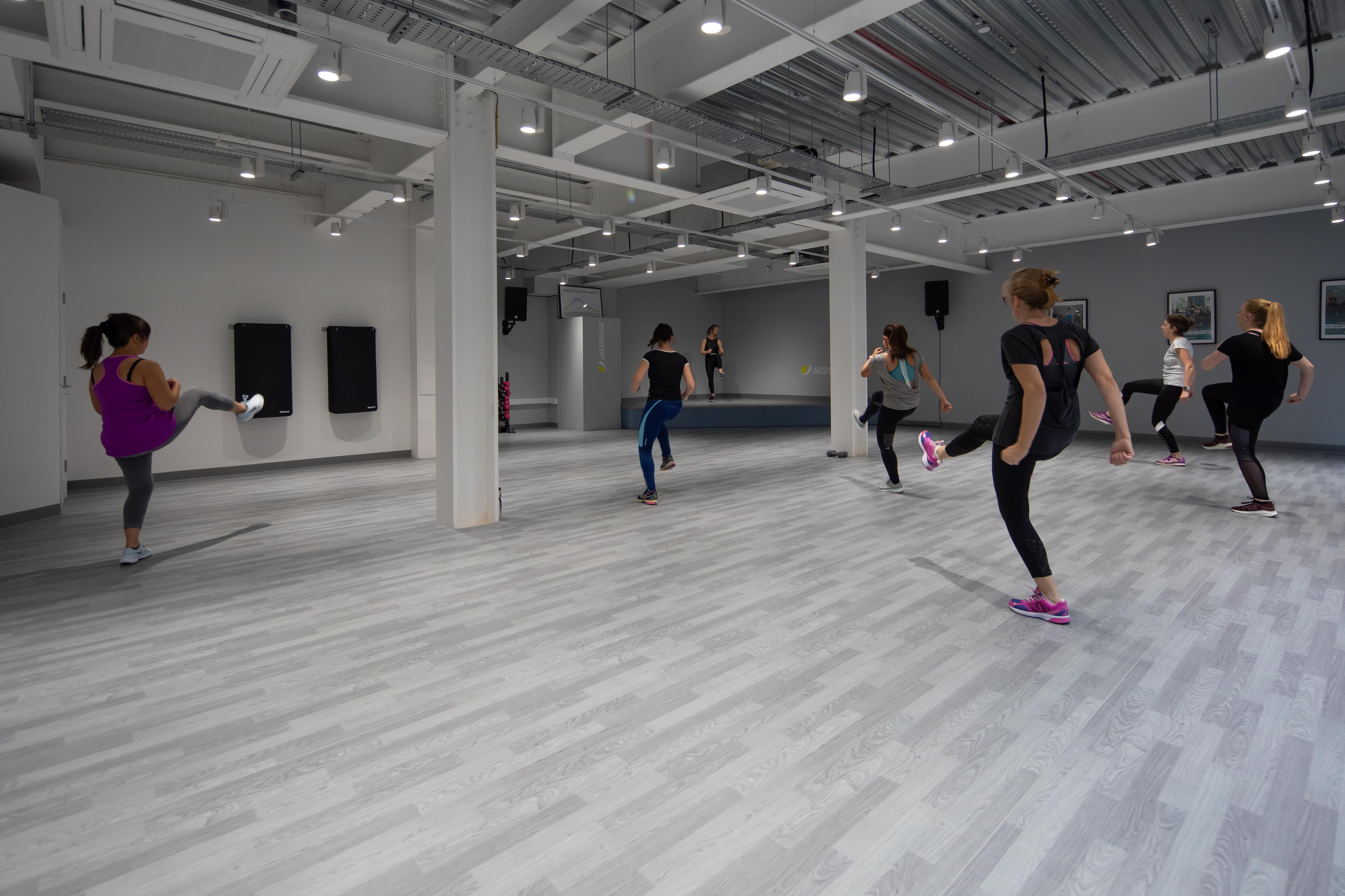 Jazzercise Flooring