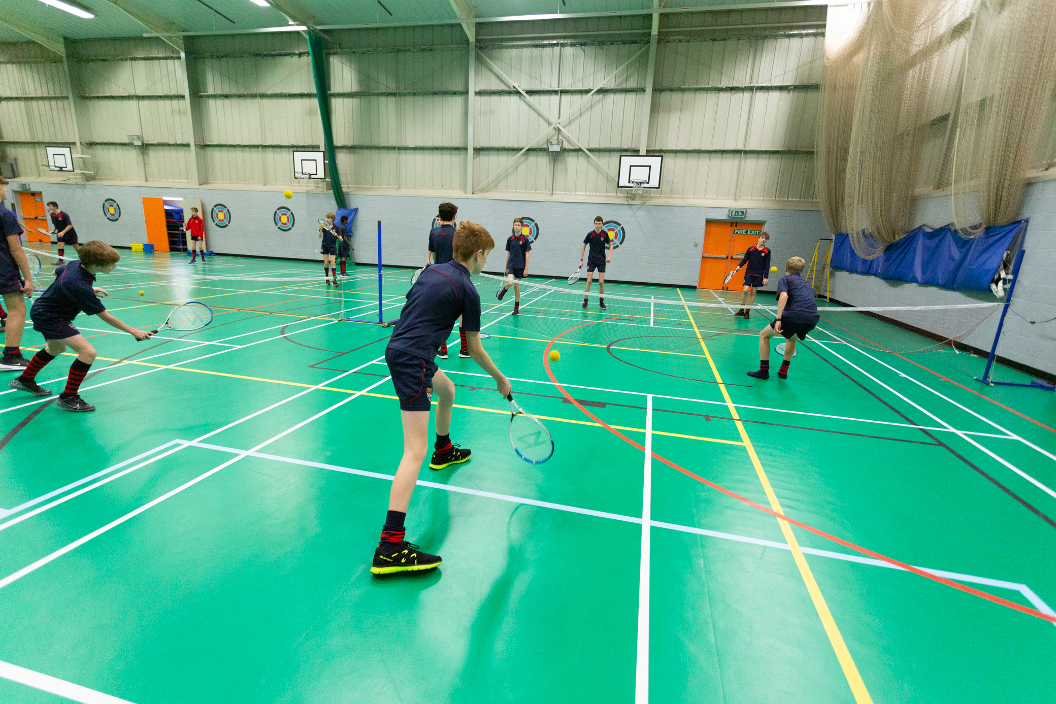 Torquay Boys School Sports Flooring