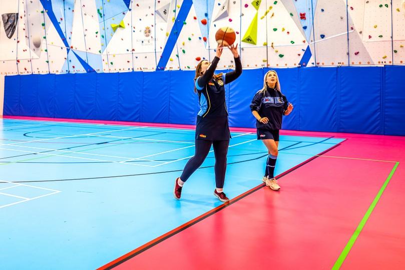 Kingham Hill School Sports flooring