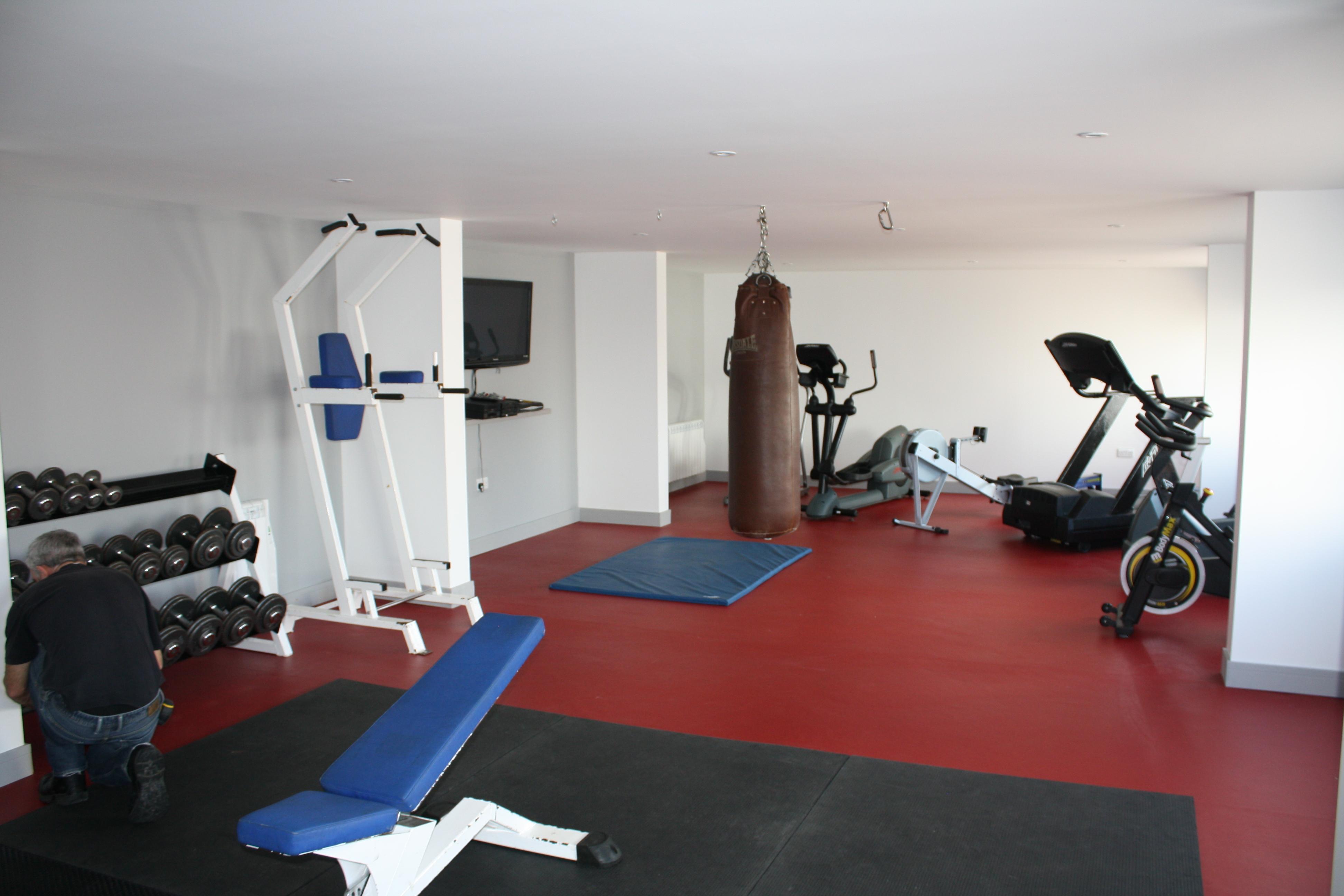 Bodmin Fire Station Sports Flooring