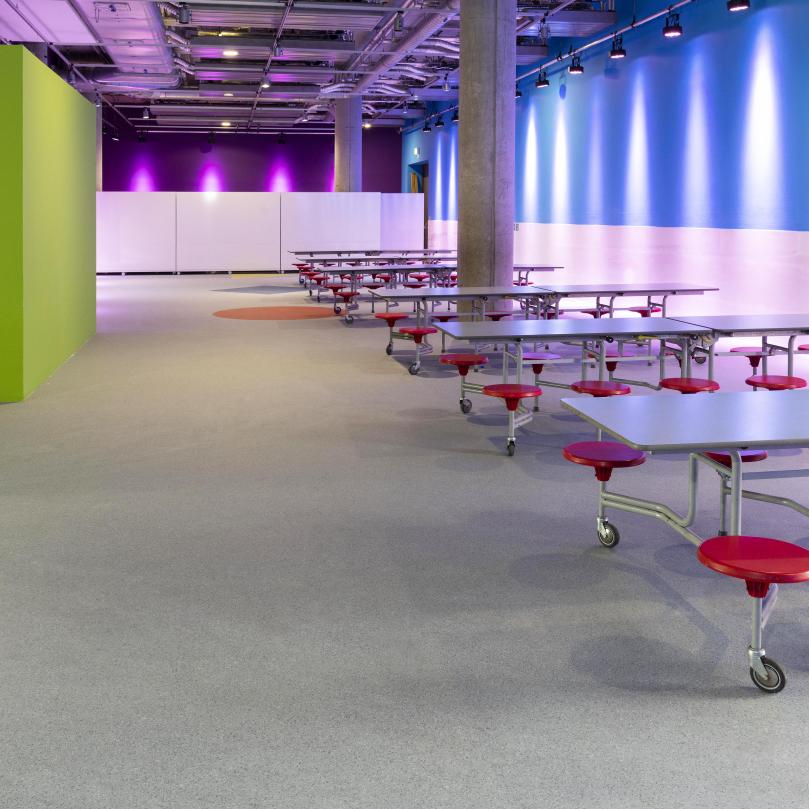 Glasgow Science Centre flooring