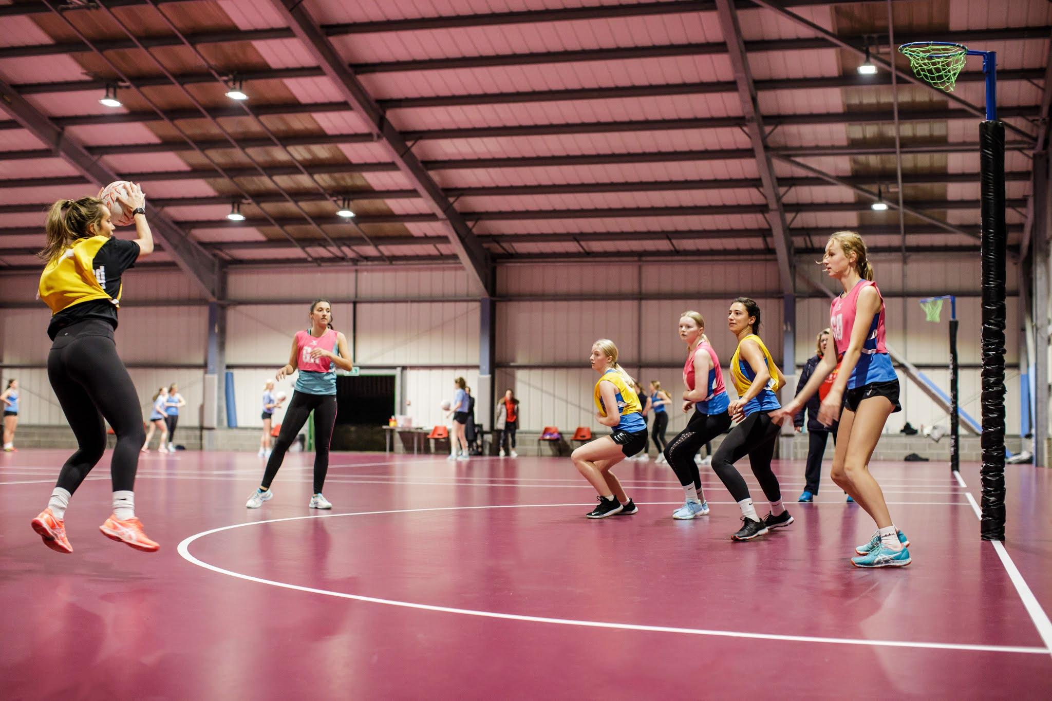 Les Ormes Sport Centre Flooring