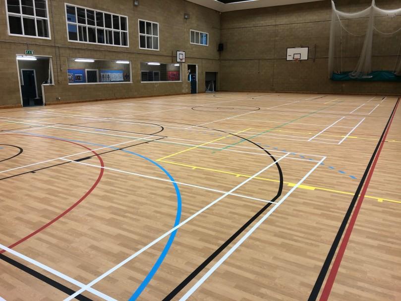 St Davids College Sports Flooring
