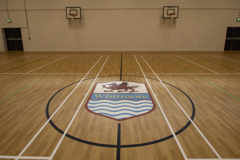 Whitmore High School Flooring