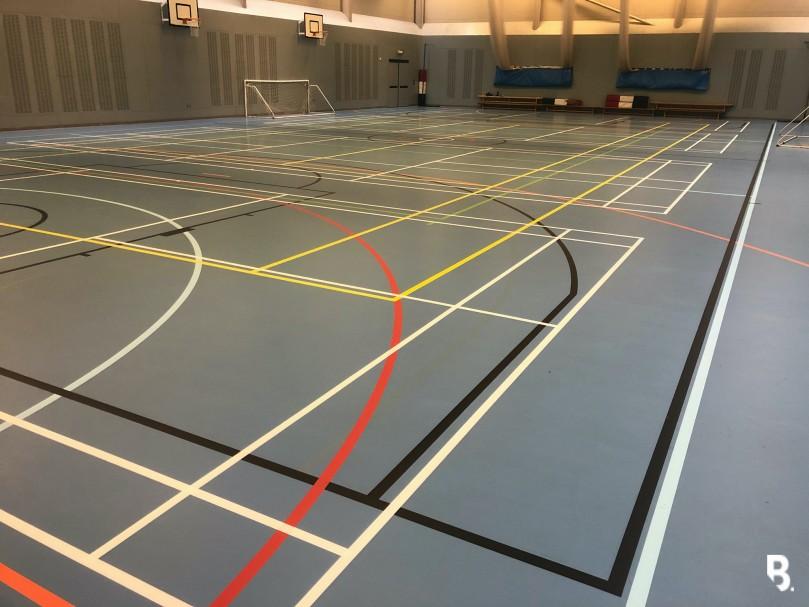 South Bromsgrove Sports Flooring