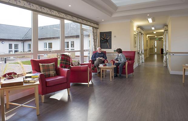 Floorings must strike the right balance in nursing homes