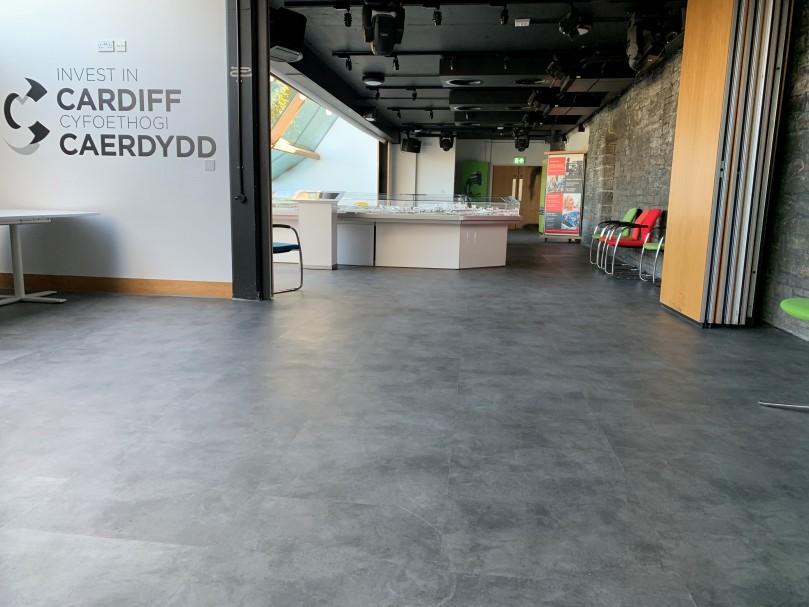 Cardiff Castle Flooring