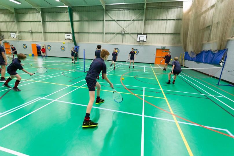 Torquay Boys School Sports Flooring