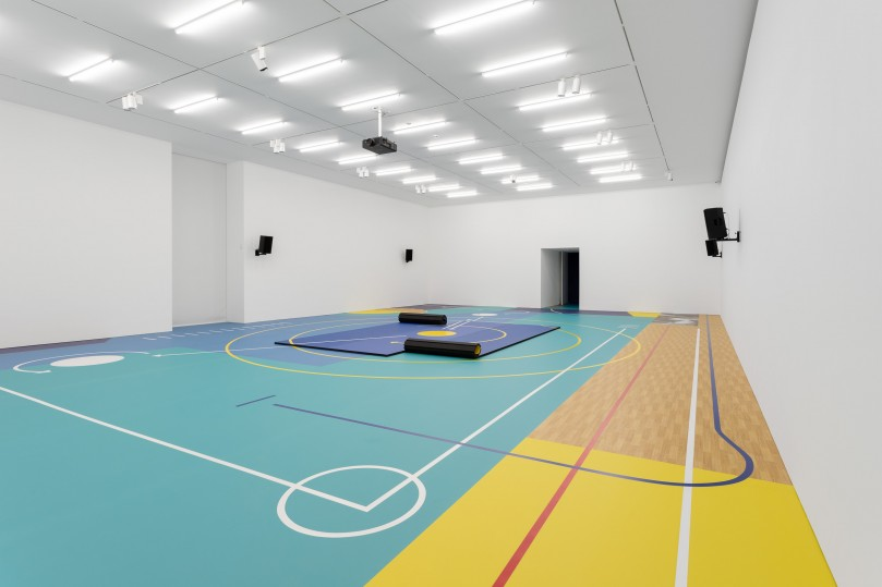 Points of Rupture Sports flooring